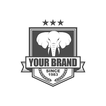 Vector vintage stijl logo
