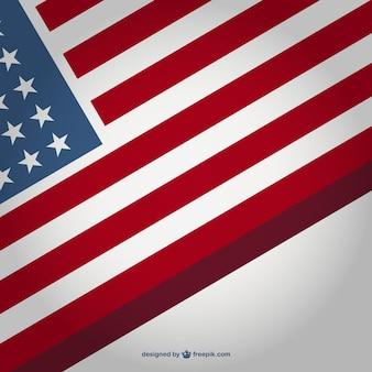 Vector vlag vergoeding achtergrond sjabloon