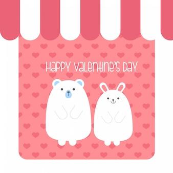 Vector voor valentijnsdag