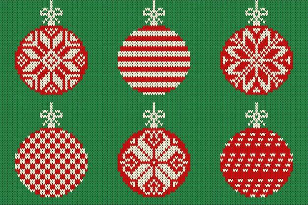 Vector vrolijk kerstfeest en nieuwjaar naadloos gebreid patroon voor scandinavische stijl.