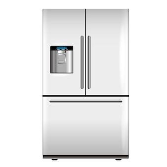 Vector witte koelkast