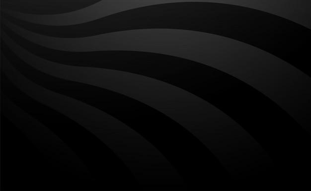 Vector zwarte rand lijn achtergrond