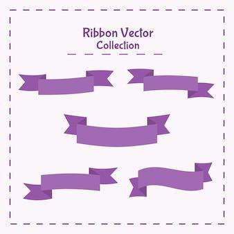 Vectorillustratie lint banner collectie
