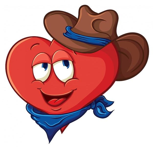Vectorillustratie over hart voor valentijnsdag