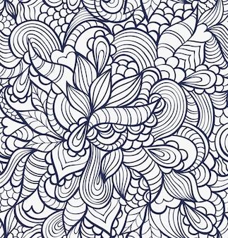 Vectorillustratie van abstract naadloos patroon