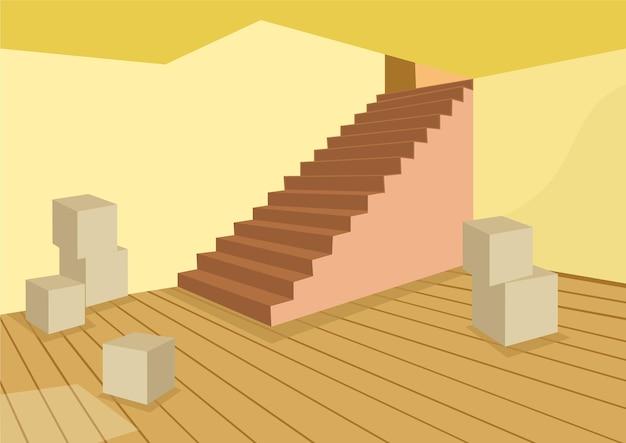 Vectorillustratie van een kelder