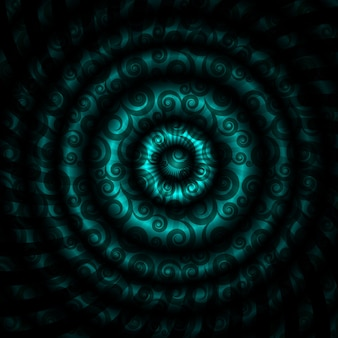 Vectorillustratie van prachtige abstracte hypnotische achtergrond