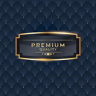 Vectorillustratie van premiumkwaliteit geïsoleerd elegant abstract gouden verloopsymbool