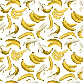 Vectorpatroon van bananen