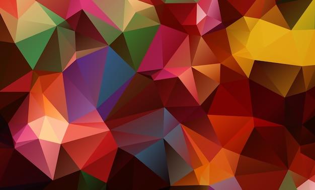 Vectorveelhoek abstracte moderne geometrische achtergrond.