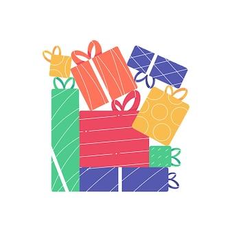 Veel kerstcadeaus en cadeautjes voor de wintervakantie