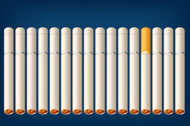 Veel sigaretten roken