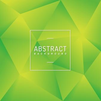 Veelhoek abstracte groene achtergrond