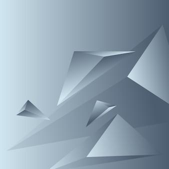 Veelhoek, abstracte kleurrijke, sereniteit, houtskool gradiënt behang achtergrond vectorillustratie