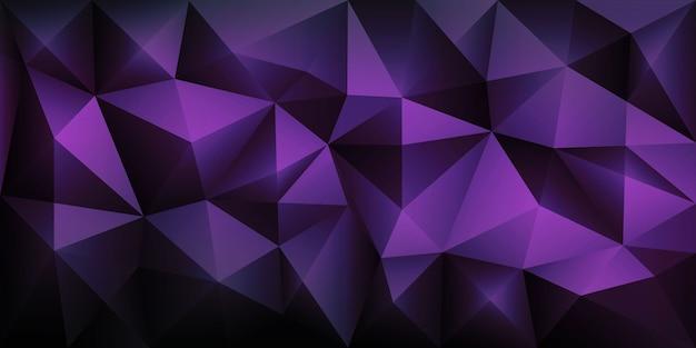 Veelhoek abstracte veelhoekige geometrische driehoek achtergrond