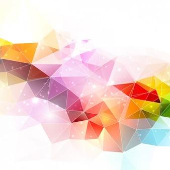 Veelhoekige abstracte achtergrond