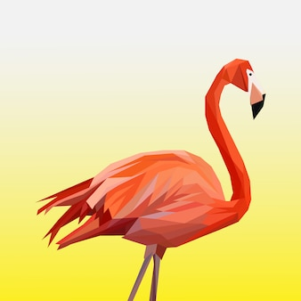 Veelhoekige flamingo