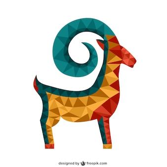 Veelhoekige geit