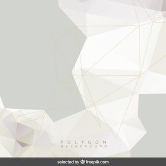 Veelhoekige grijze achtergrond met gaas