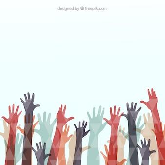Veelhoekige handen