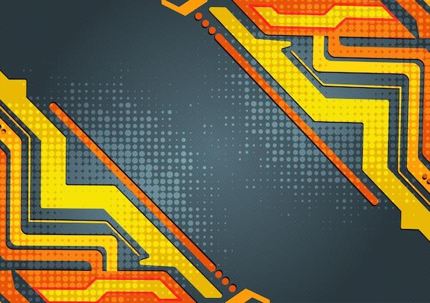 Veelkleurige abstracte geometrische achtergrond