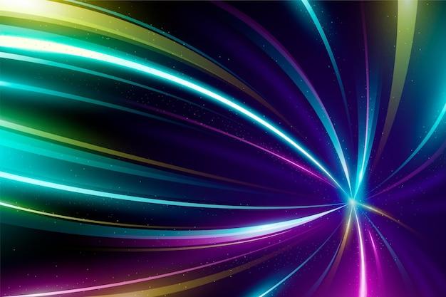 Veelkleurige neonlichten achtergrond
