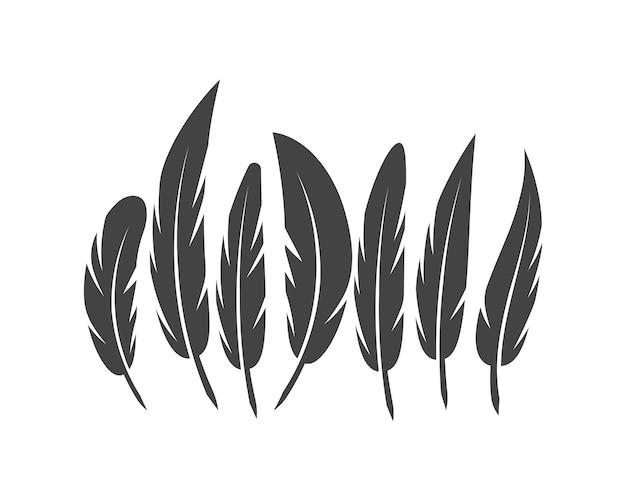 Veer pen logo sjabloon