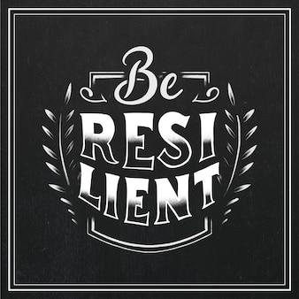 Veerkracht belettering