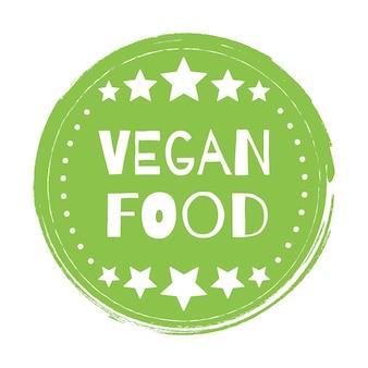 Veganistisch bio, ecologie, biologisch logo en pictogram, label, tag. groen blad pictogram op witte achtergrond.