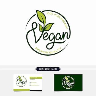Veganistisch logo