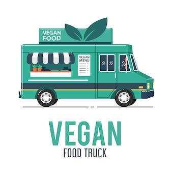 Veganistische foodtruck