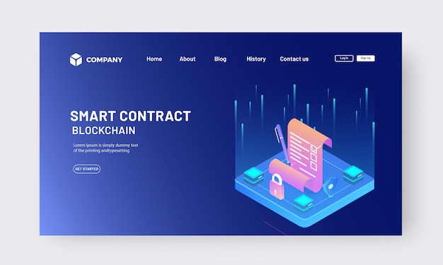 Veilig en beveiligd contract met app-vergrendeling