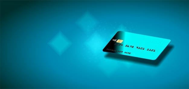 Veilige online betalingstransactie via creditcard. bescherming winkelen draadloos betalen,