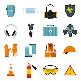 Veiligheid pictogrammen instellen