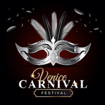 Venetië carnaval achtergrond