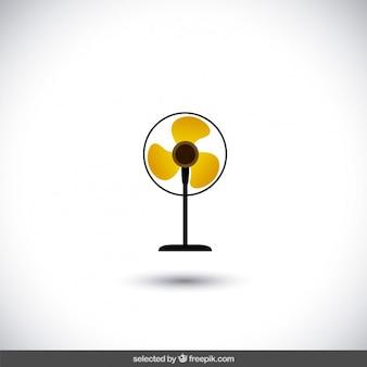 Ventilator geïsoleerde