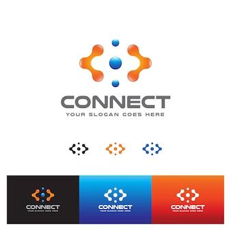 Verbindingstechnologie dienstverlener logo