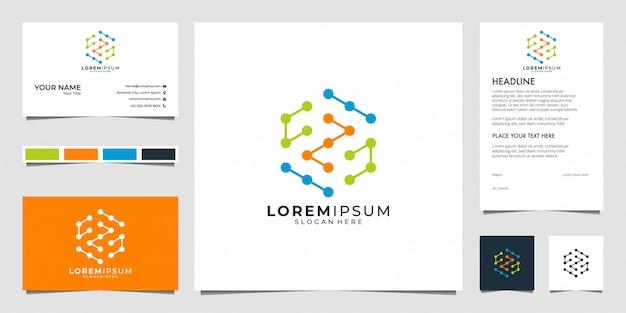 Verbindingstechnologie logo en visitekaartje