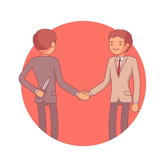 Verborgen bedoelingen bij onderhandelingen