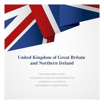Verenigd koninkrijk insignia sjabloon
