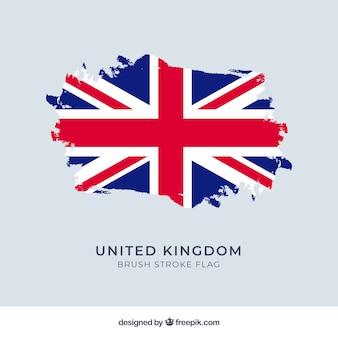 Verenigd koninkrijk vlag achtergrond