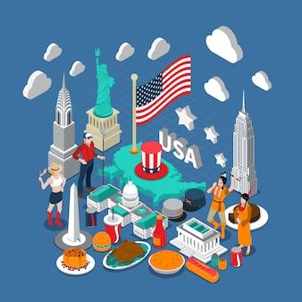Verenigde staten concept samenstelling