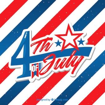 Verenigde staten onafhankelijkheidsdag viering achtergrond