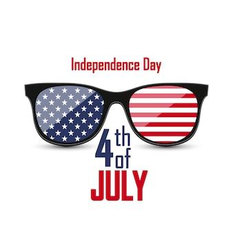 Verenigde staten van amerika. 4 juli.