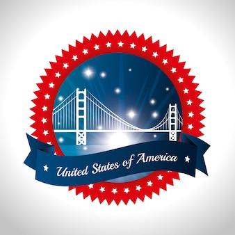 Verenigde staten van amerika ontwerp