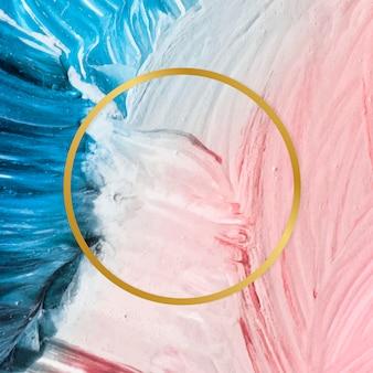 Verf textuur achtergrond frame