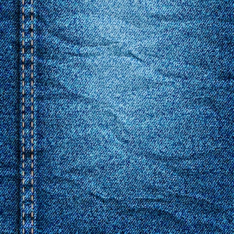 Verfrommeld denim textuur
