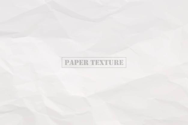 Verfrommeld papier textuur vectorillustratie