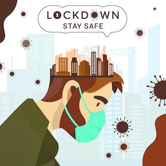 Vergrendel en blijf veilig voor corona virus