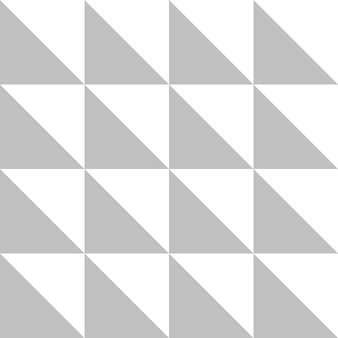 Vergrendelende driehoek in zilveren kleur